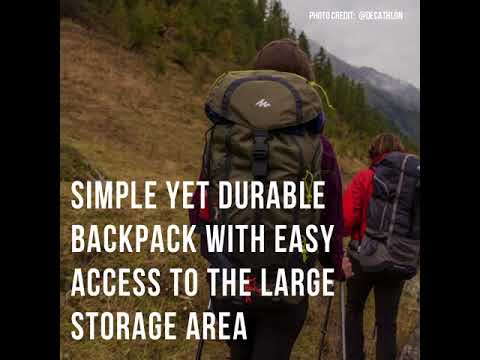 Best Travel Backpack: Quechua Trekking Forclaz