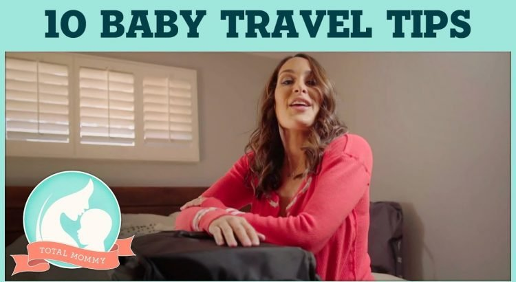 Brie's top 10 secrets for traveling alone with Birdie! | Total Mom...