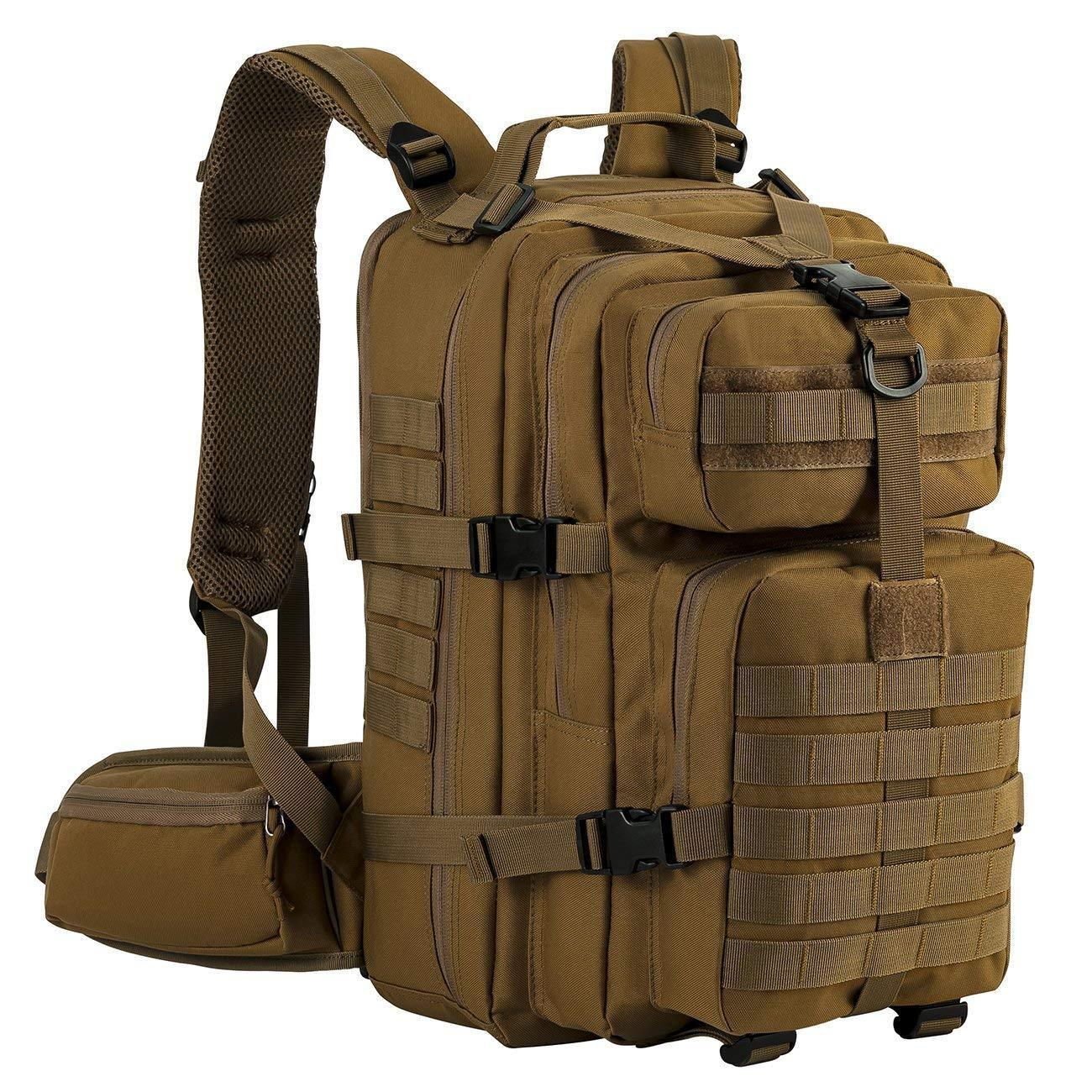 Bug Out Bag Military Tactical Backpack 3 Day Small Assault Survive Pa...