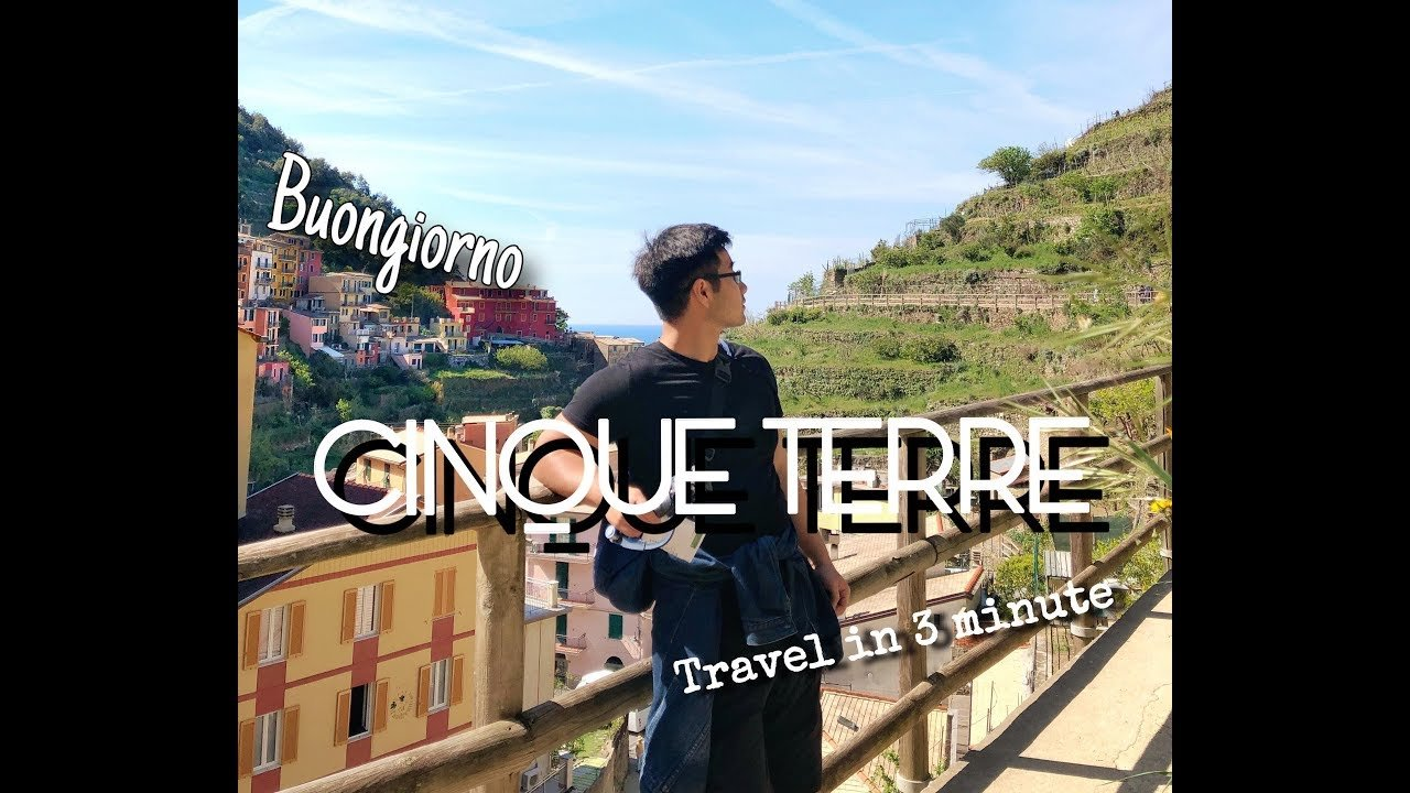 CINQUE TERRE, ITALY | TRAVEL EXPERIENCE IN 3 MINUTES