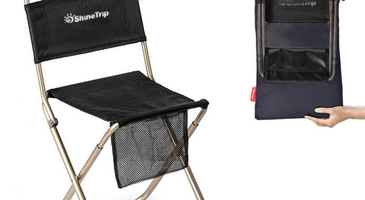 Camping Stool,Portable Folding Travel Camp Fishing Chair, Fordable Out...