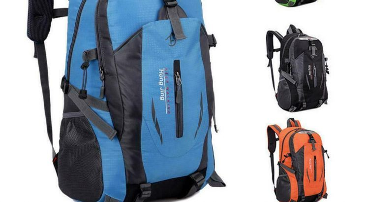 Comfortable Outdoor Waterproof Hiking Rucksack Camping Travel Bag Back...