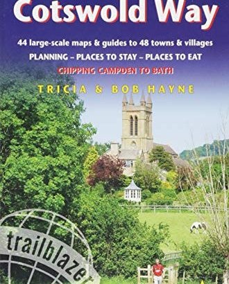 Cotswold Method: 44 Walking that is large-Scale Maps Guides to 48 Towns and Vil... - Cotswold Way 44 Large Scale Walking Maps Guides to 48 330x410