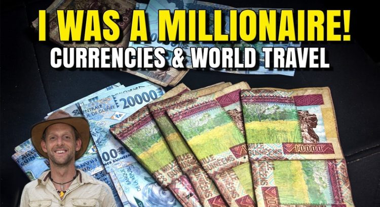 Currencies & cash around the world - How to travel