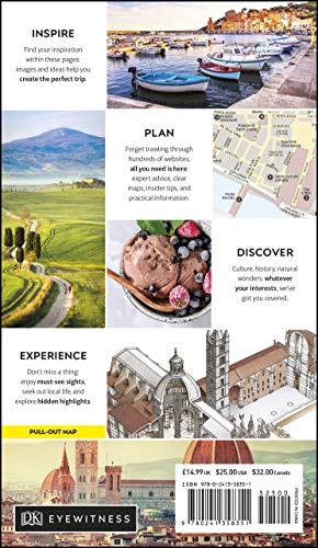DK Eyewitness Florence and Tuscany (Travel Guide) - DK Eyewitness Florence and Tuscany Travel Guide