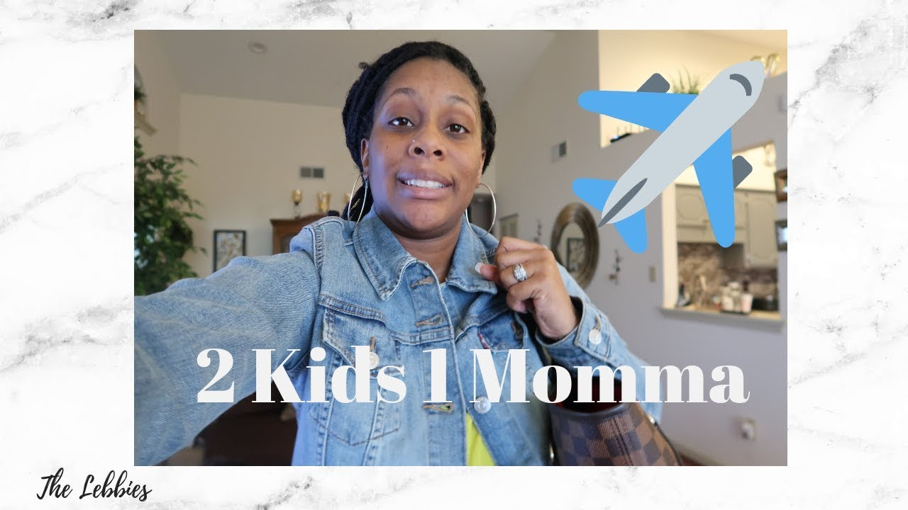 Flying with Two Kids Tips| Traveling alone with Two children