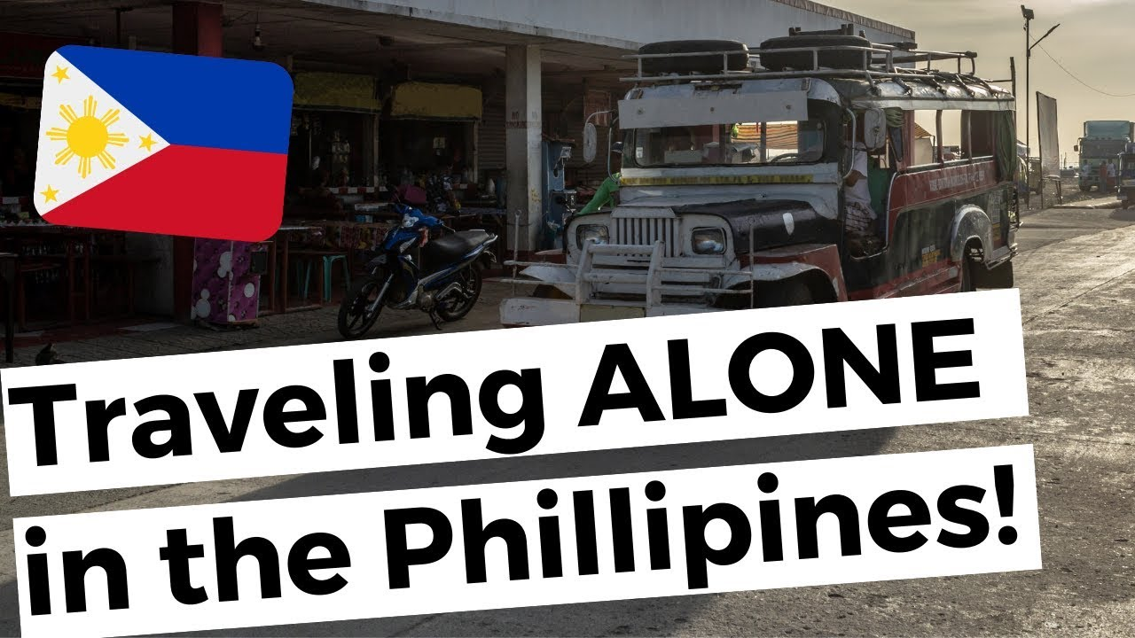 Foreigner traveling ALONE in the Philippines! OMG!!!???