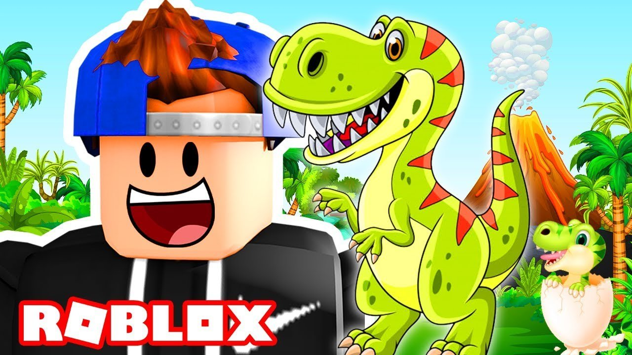 GETTING ATTACKED BY DINOSAURS IN ROBLOX! | Roblox Time Travel Adventu...