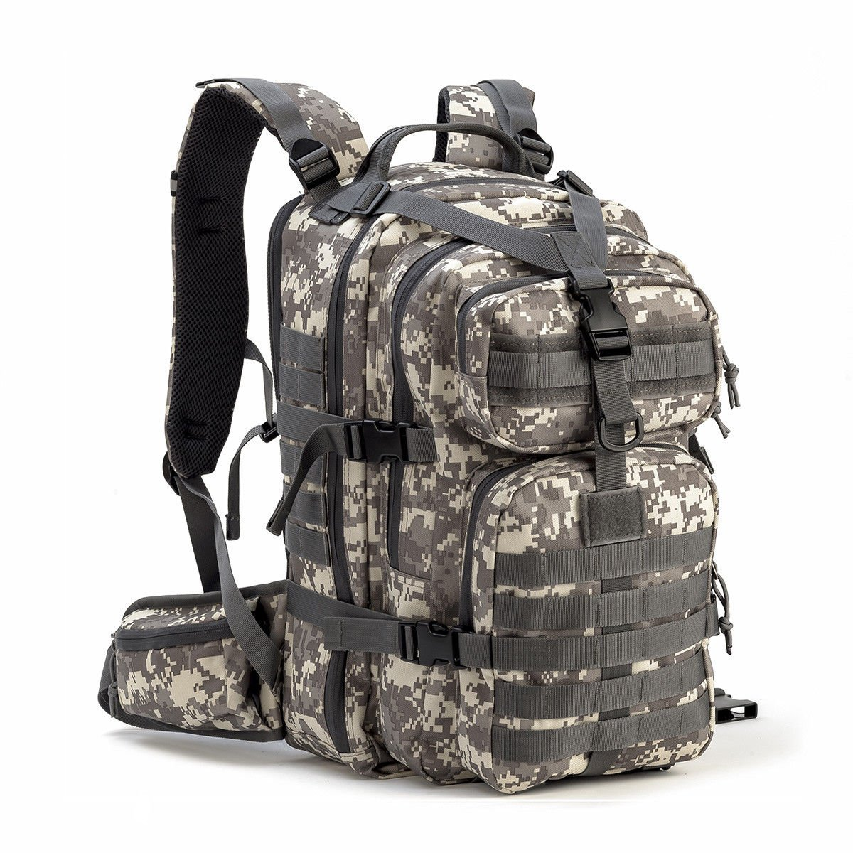 Gelindo Military Tactical Backpack Army Molle Pack Bug Out Bag Hiking ...