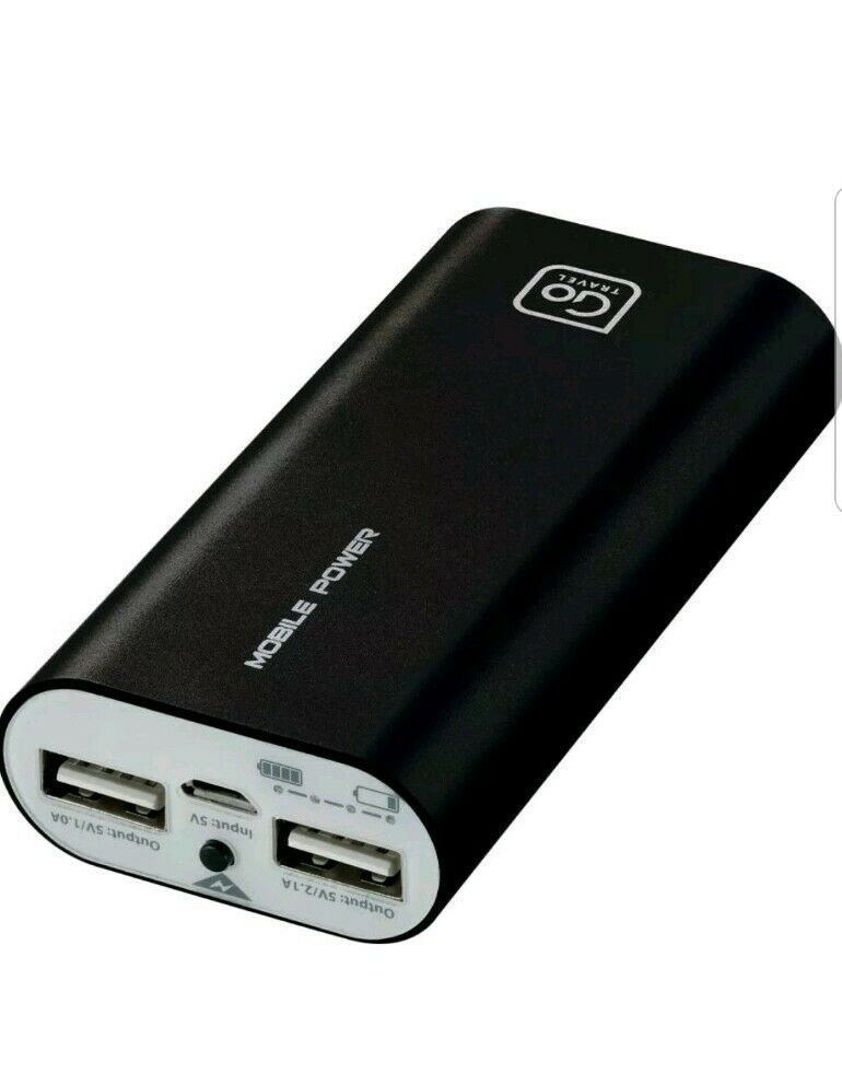 Go Travel Twin Powerbank 965 Black