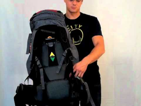 Guerrilla Packs Asalto Model Internal Frame Travel Backpack - Video De...