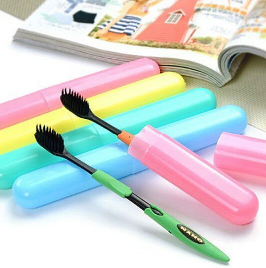 HOT Portable Travel Hiking Camping Toothbrush Protect Holder Case Box ...