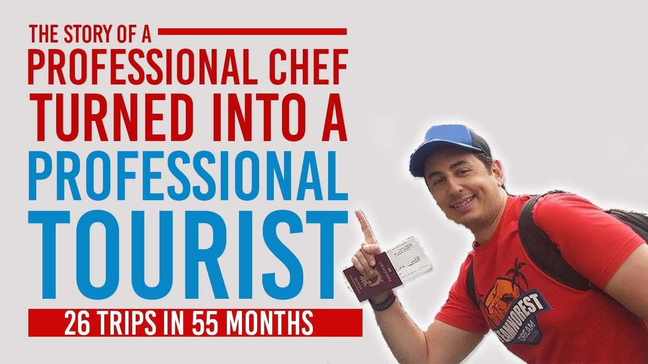 How To Travel The World - A Professional Chef Turned Into A Profession...