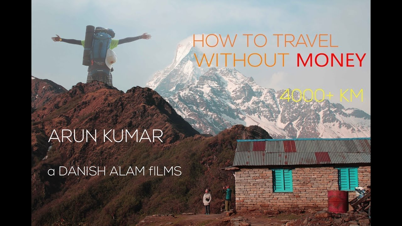 How to travel the world without MONEY | Arun Kumar | Danish Alam vlogs