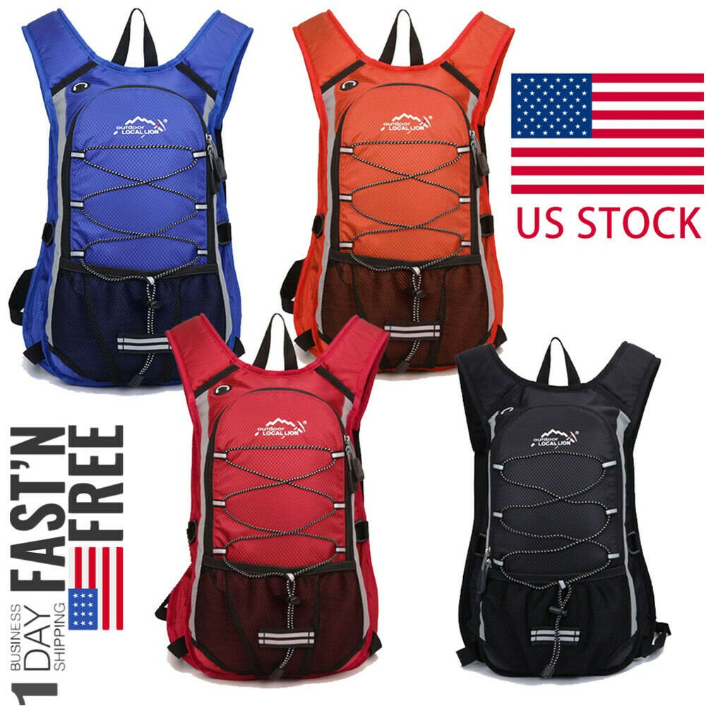 Hydration Backpack Thermal Insulation Pack Outdoor Gear for Hiking, Cy...