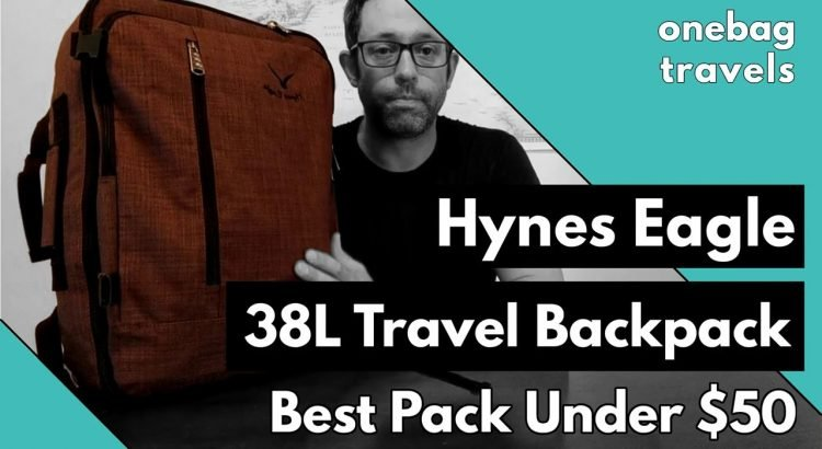 Hynes Eagle 38L Travel Backpack - Review and Packing Demo