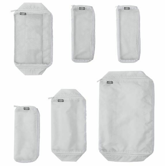 IKEA Travel Packing Bag 6/Set for Suitcase & Luggage Accessories F...
