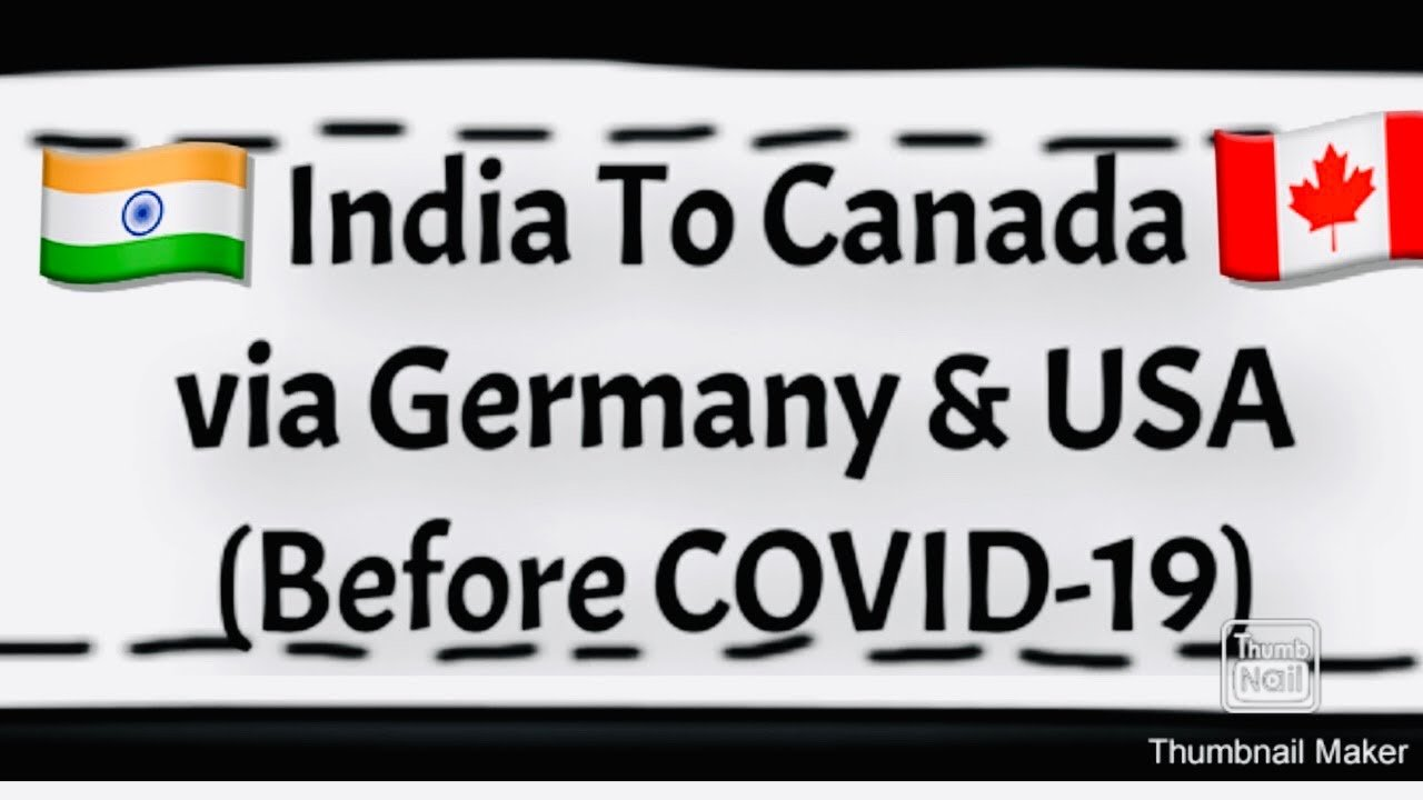 INDIA TO CANADA BEFORE COVID-19 | TRAVEL EXPERIENCE WITH LUFTHANSA |JO...