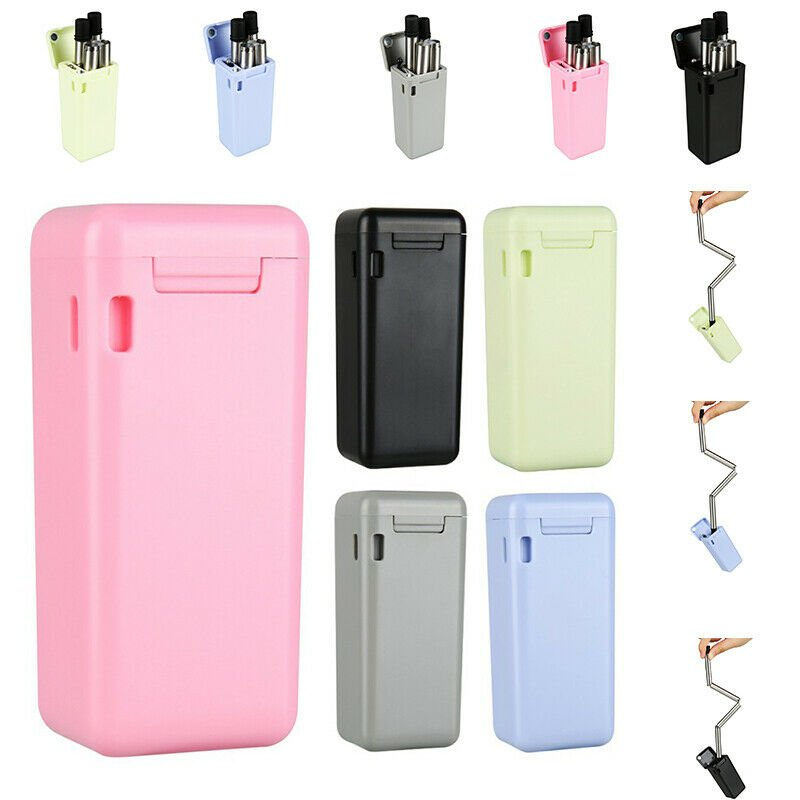 IPC Collapsible Reusable Straw Stainless Final Travel Outdoor Drinking...