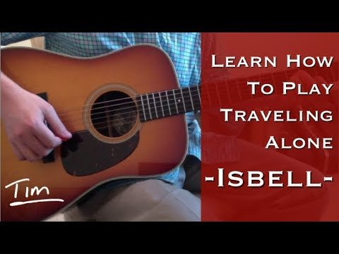 Jason Isbell Traveling Alone Chords Lesson and Tutorial