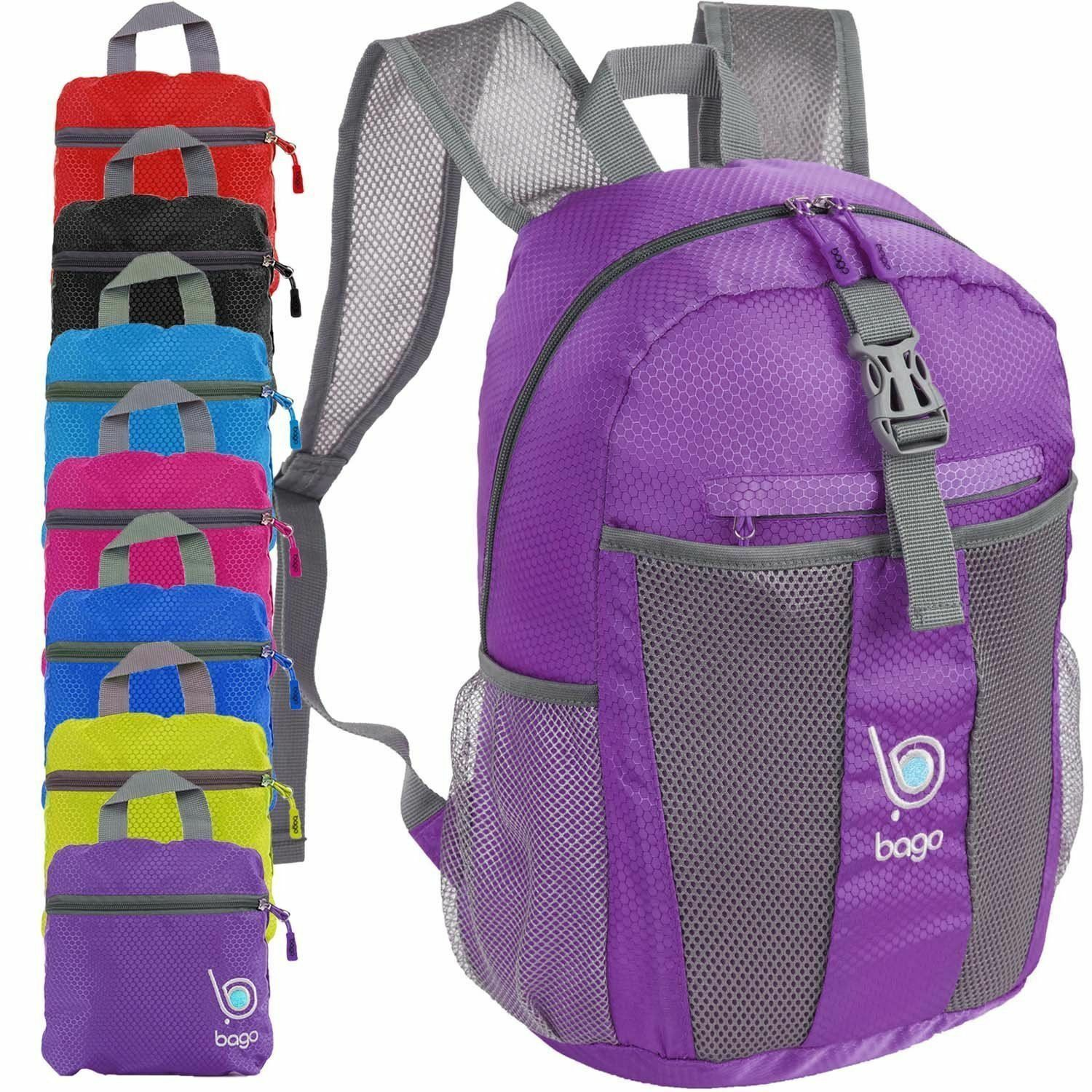 Lightweight Foldable Backpack for Travel and Sport - 25L Collapsible ...