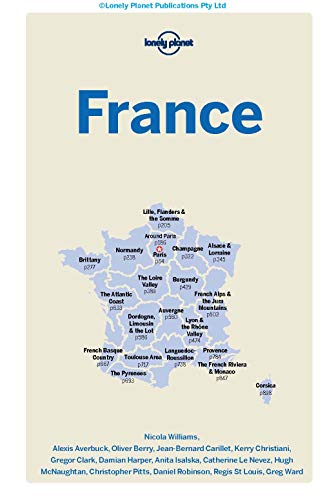 Lonely Planet France (Country Guide) - Lonely Planet France Country Guide