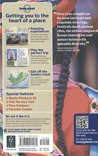 Lonely Planet Peru (Nation Guide) - Lonely Planet Peru Country Guide