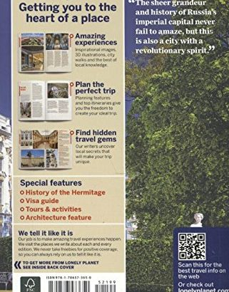 Lonely Planet St Petersburg 8 (Town Guide) - Lonely Planet St Petersburg 8 City Guide 321x410