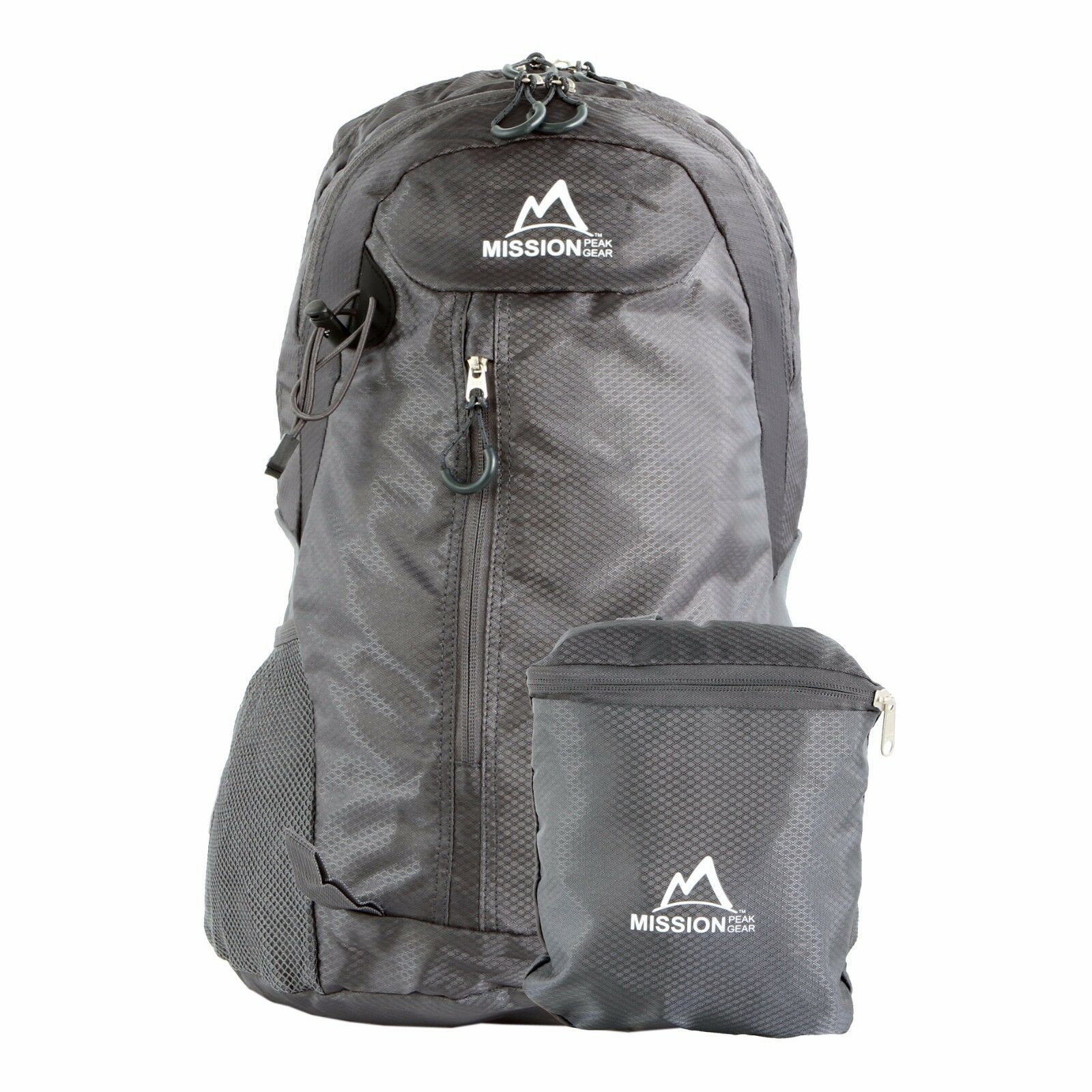 MISSION PEAK GEAR Fast2100 30L Foldable Packable Hiking Backpack Daypa...