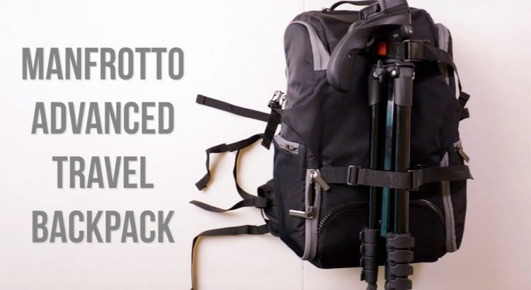 Manfrotto Advanced Travel Backpack (BUDGET TRAVEL CAMERA BAG)
