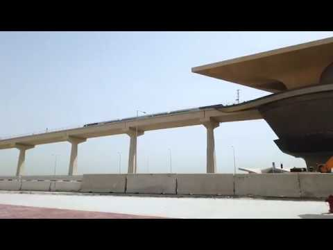 Marking a historic moment with a new travel experience.Doha Metro, cha...