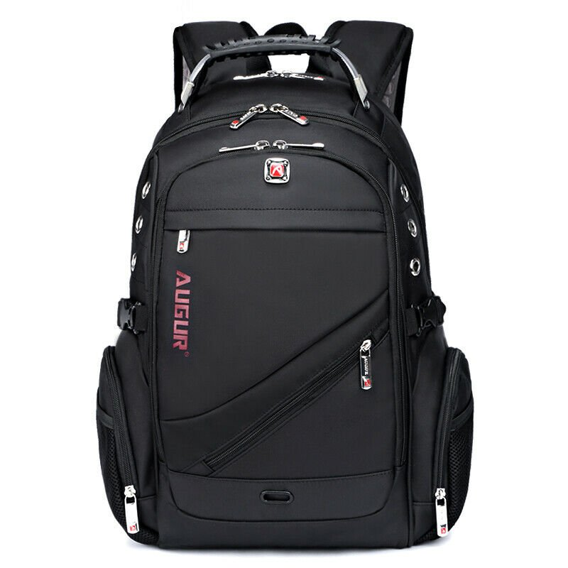 "Men's Travel Rucksack Notebook 15.6"" Laptop Backpack Hiking Swiss Scho..."
