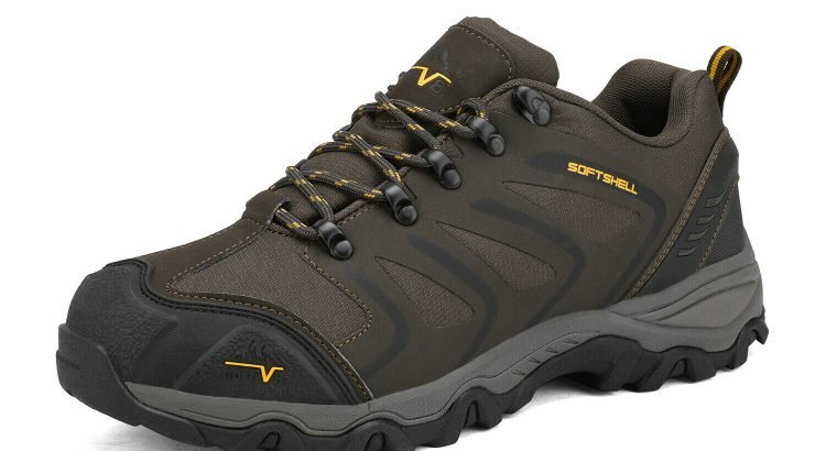 Mens low Low Top Waterproof Outdoor Hiking Backpacking  Work Boots Sho...
