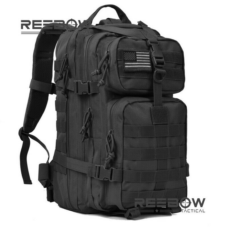 Military Tactical Backpack Assault Pack Molle Waterproof Bug Out Bag R...