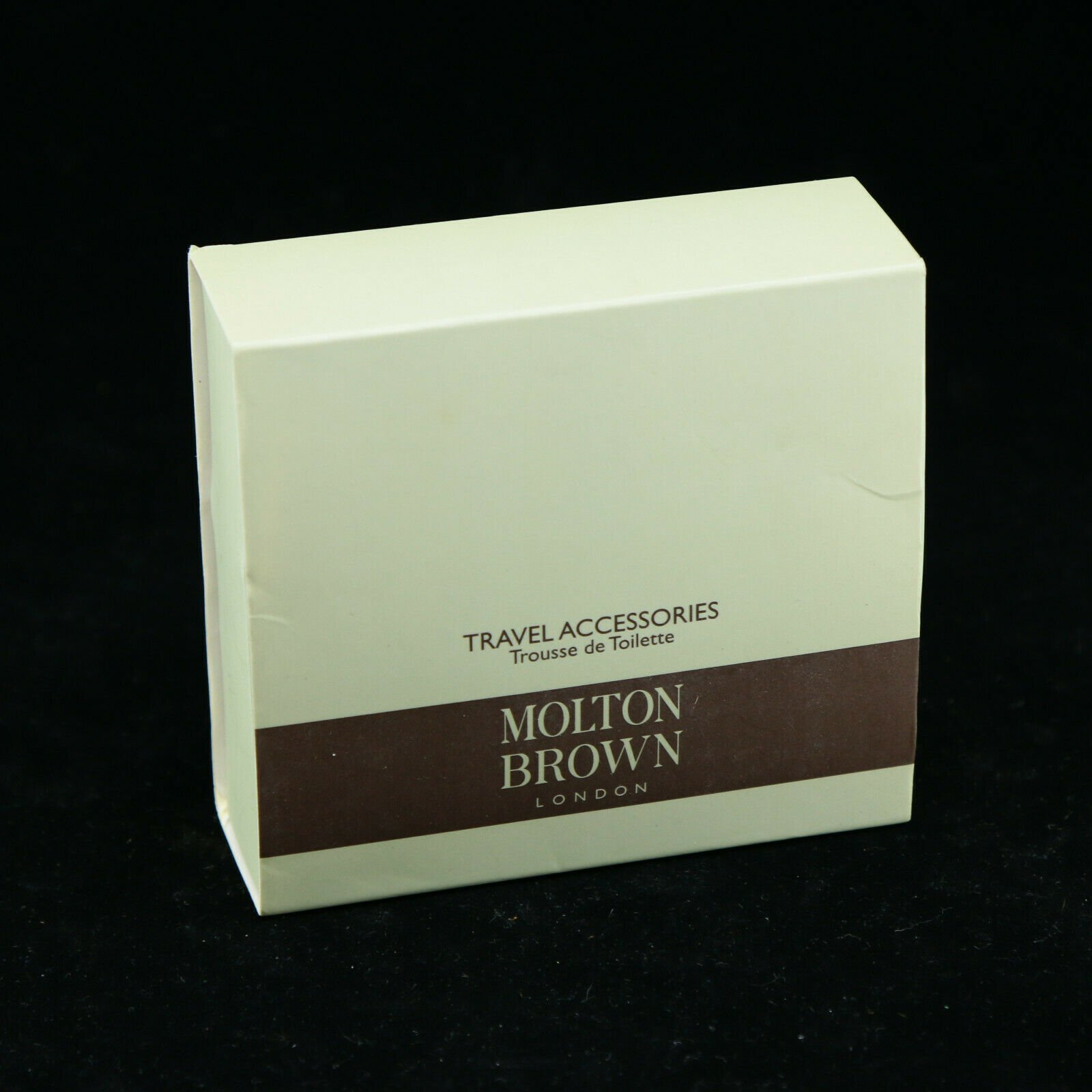 Molton Brown London Travel Accessories Box w/ Shower Cap Mending Kit S...