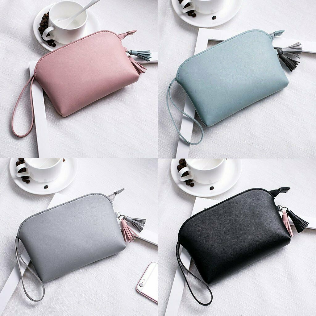 Multifunction Purse Makeup Cosmetic Bag Toiletry Case Pouch Travel Por...