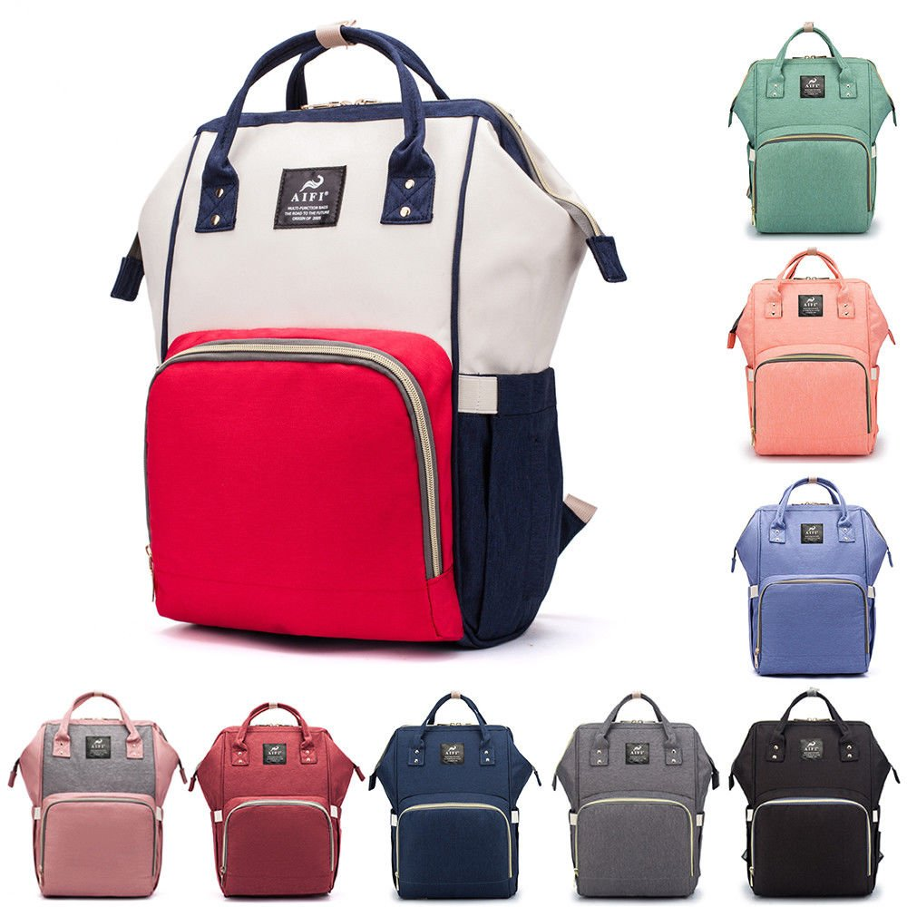 Mummy Maternity Nappy Diaper Bag Large Changing Baby Travel Backpack H...