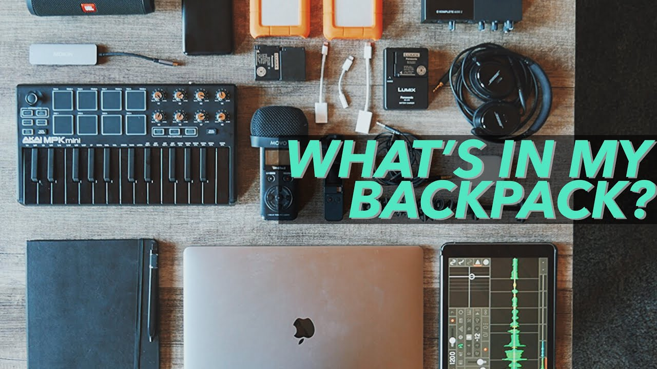 Music Production Travel Backpack 2019 | What's In My Bag?