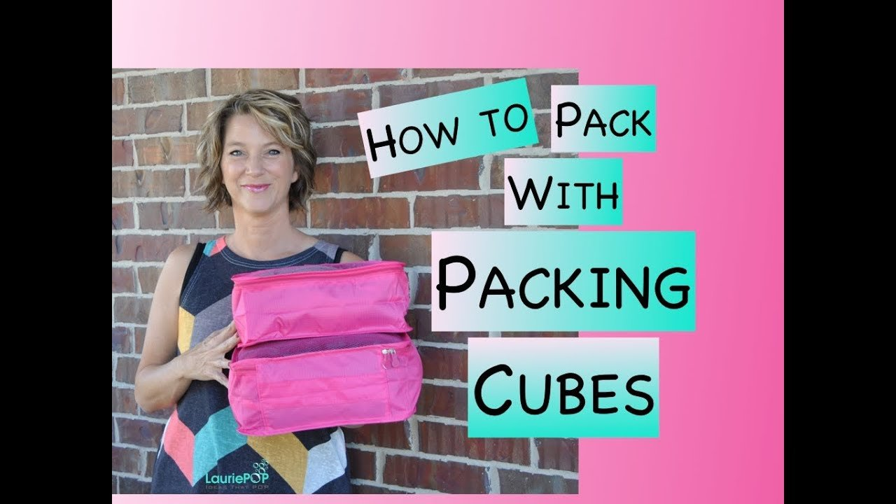 My Review of How to Pack With Packing Cubes - the Best Method for Trav...