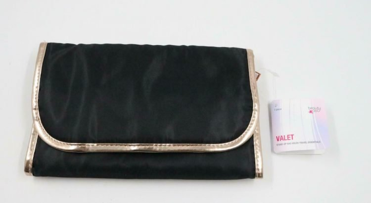 NEW Beauty 360 Travel Pouch Valet Cosmetic Hanging Organizer Bag Women