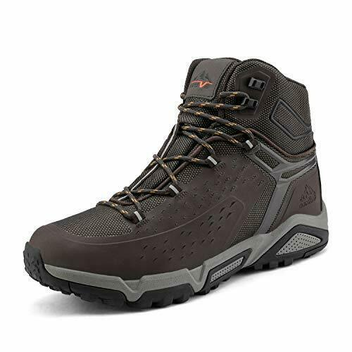 NORTIV 8 Fashion Men's Waterproof Outdoor Mid Hiking Boots Backpacking...