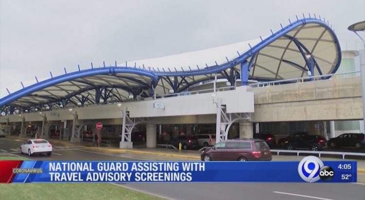National Guard assisting with travel advisory screenings