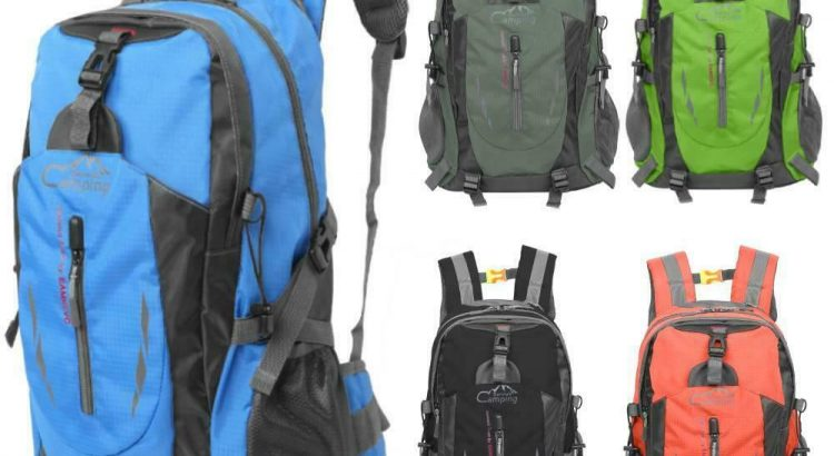 New 30L Backpack Outdoor Hiking Bag Cyling Travel Day Pack Climbing Sp...