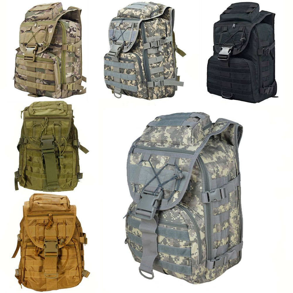 New 35L Army Tactical Assault Rucksack Molle Backpack Shoulders Pack O...