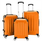 """New 3PCS 20/24/28"""" Luggage Travel Bag ABS Trolley Hard Shell Suitcase ..."""