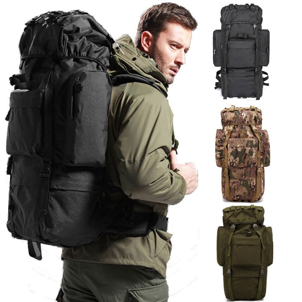 New 80L Travel Rucksack Sports Outdoor Backpack Hiking Large Internal ...
