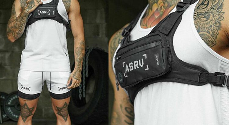 New Chest Rig Bags Tactical Harness Chest Vest Travel Crossbody Should...