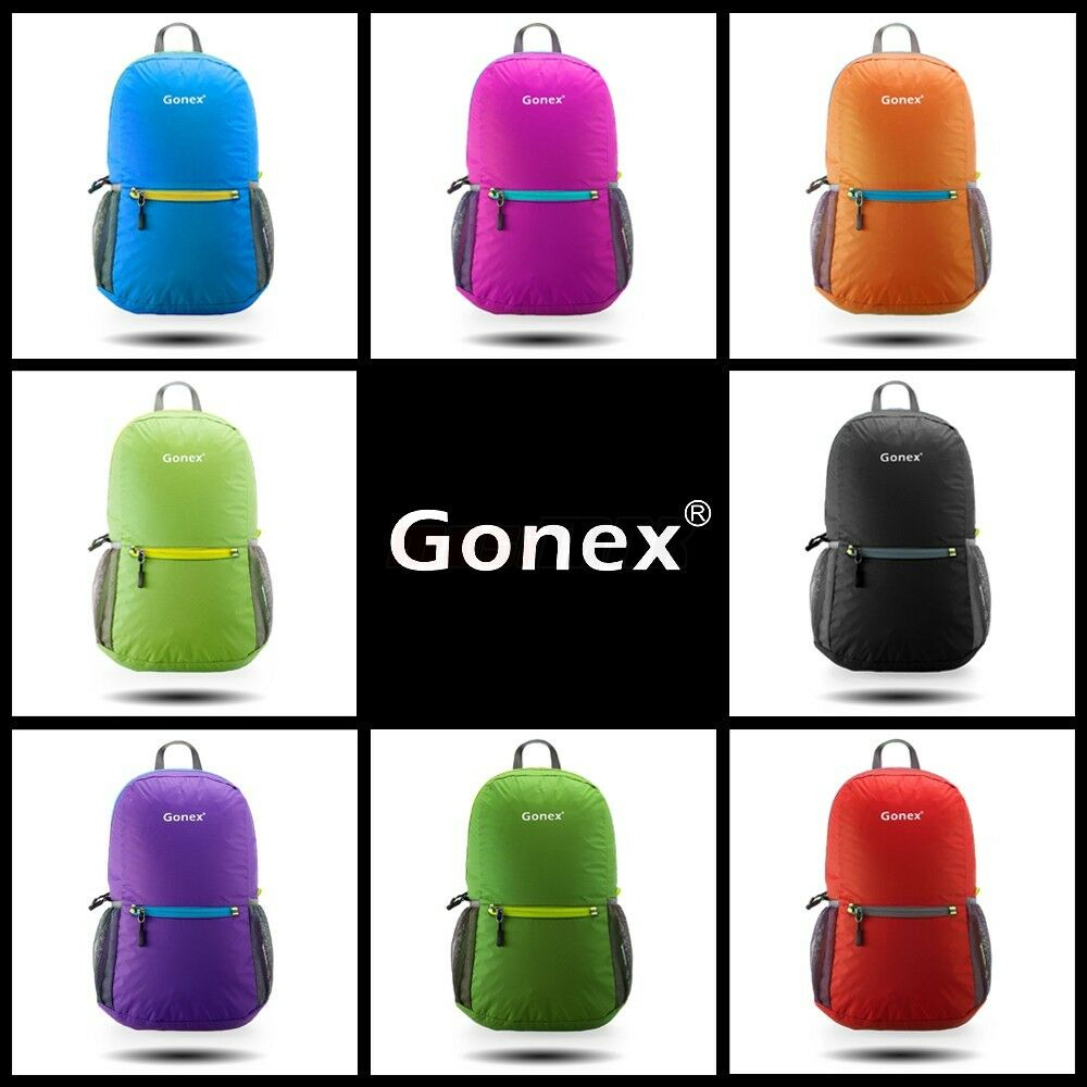 New Foldable Handy Daypack Backpack Camping Travel Hiking Rucksack sho...