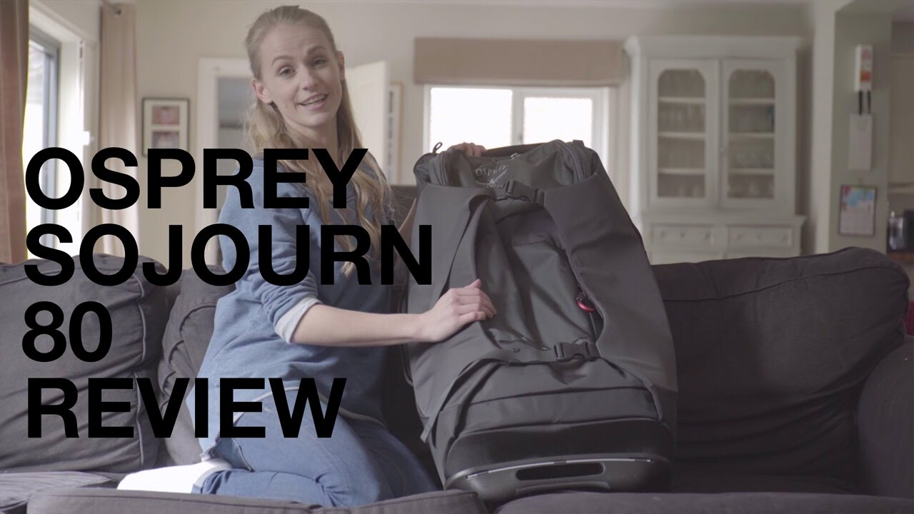 Osprey Sojourn 80 - Travel Backpack With Wheels