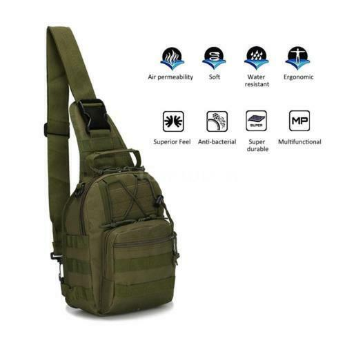 Outdoor Backpack Shoulder Military Travel Camping Hiking Trekking Bag...